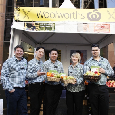 Woolworths and Glad supporting #PledgeAPlate